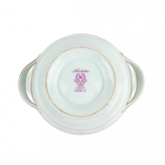 Thố Sứ Có Nắp Noble 2600 Noritake – Nhật – 12.5 x 5.5 cm – 45913
