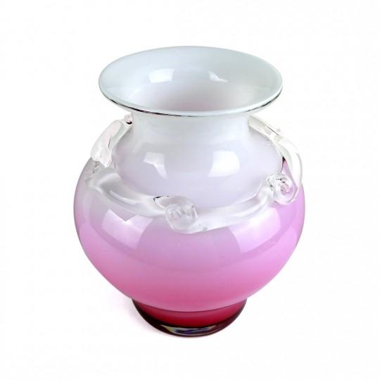 Bình Hoa Thủy Tinh Màu Kamei Glass – Nhật – 19.5 x 24 cm – 522019
