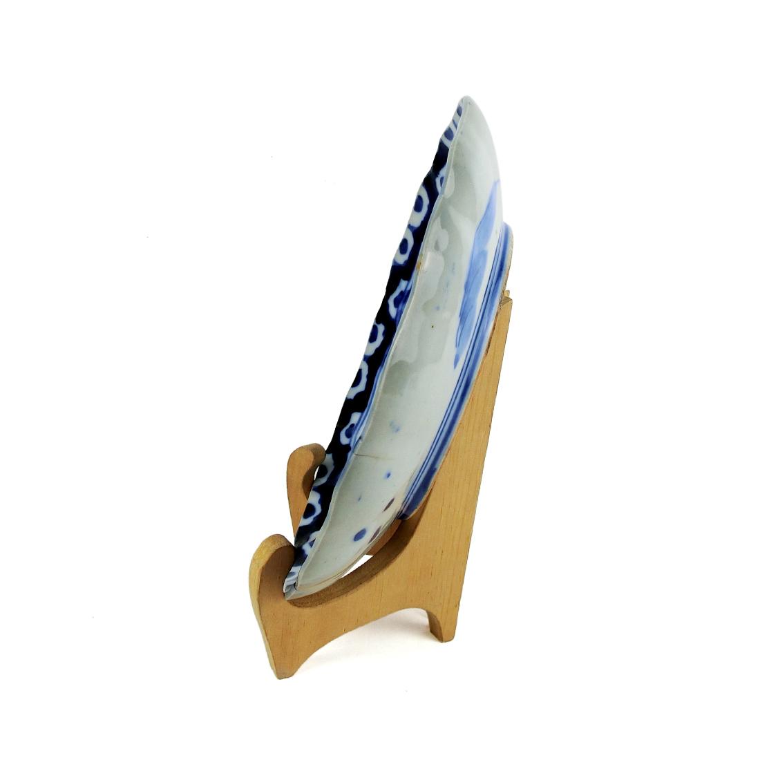 Dĩa Men Lam Sơn Thủy Tùng Xưa - Nhật - 22 x 2 cm - 532067