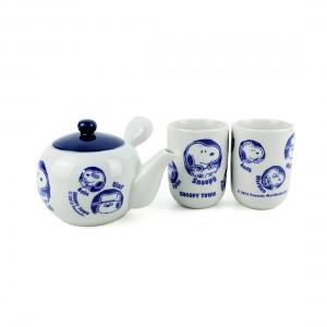 Bộ Trà Sứ Đối Ẩm 2 Chung Snoopy - Nhật - 212113