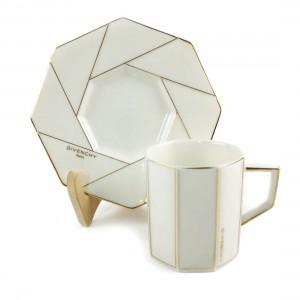 Set Trà Sứ Bát Giác Givenchy Yamaka - Nhật - 31593 - 31594