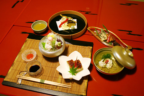 kyoto-gion-hatanaka-hamo-ryori-lunch-2