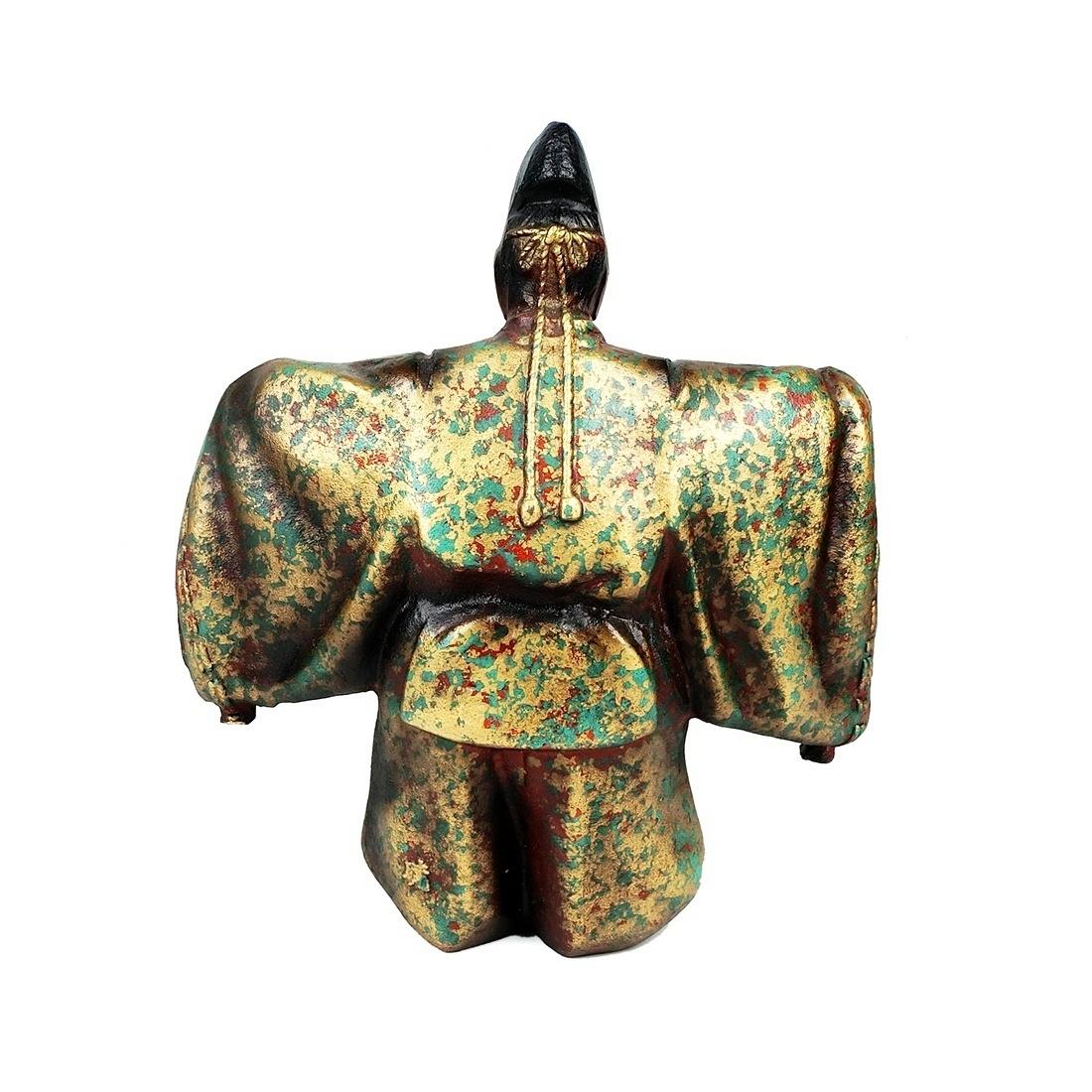 Tượng Sứ Nhật Hoàng Vẽ Vàng Cốt Nặng - Nhật - 513301