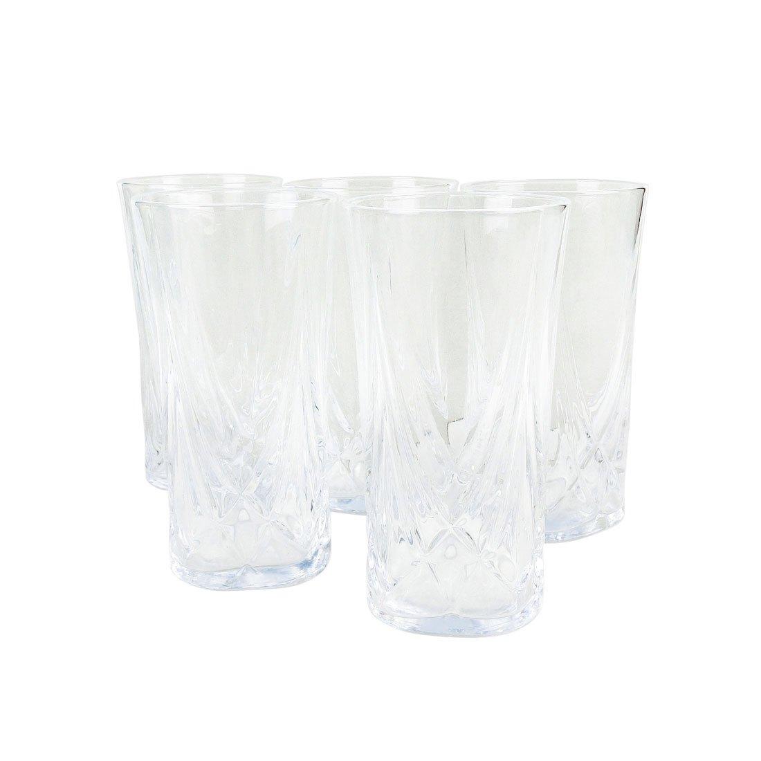 Hộp Ly Thủy Tinh Aderia Glass - Nhật - 6 x 12 cm - 123375