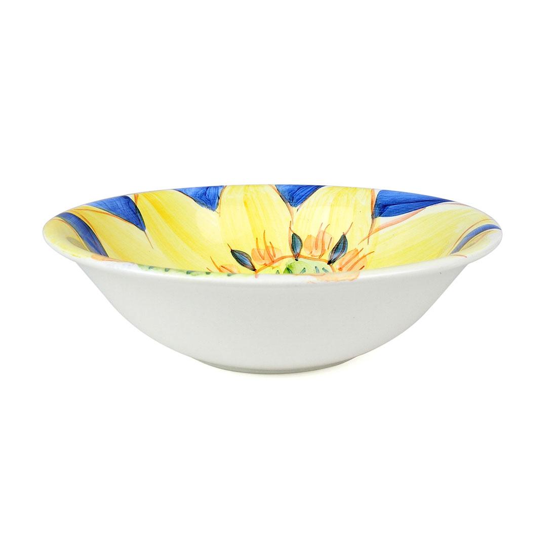 Tô Nhỏ Vẽ Tay Hoa Robesta Viviani - Ý - 17 x 5 cm - 442988