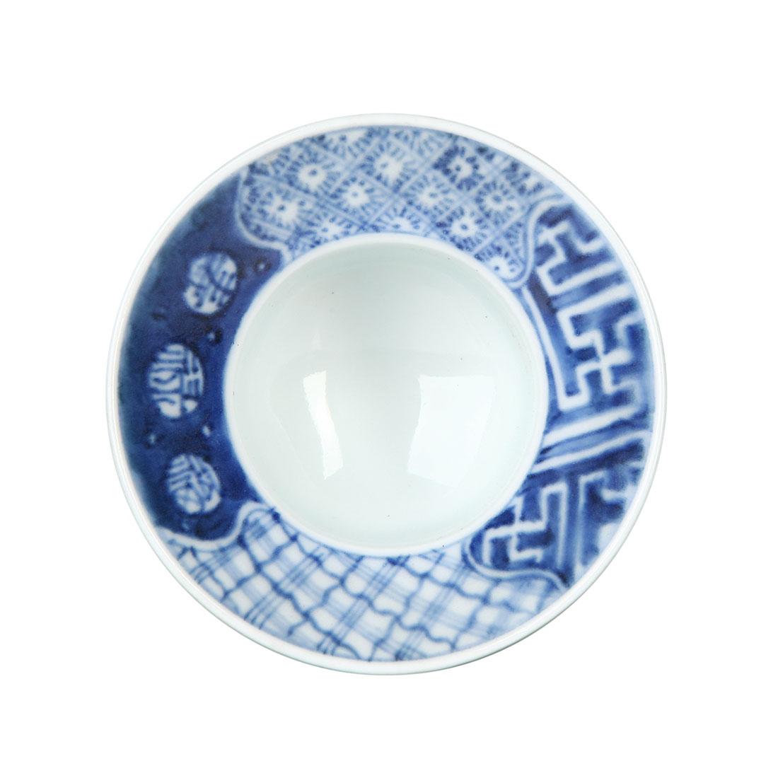 Bộ 3 Chung Men Lam - Nhật - 7.5 x 5.5 cm - 233557
