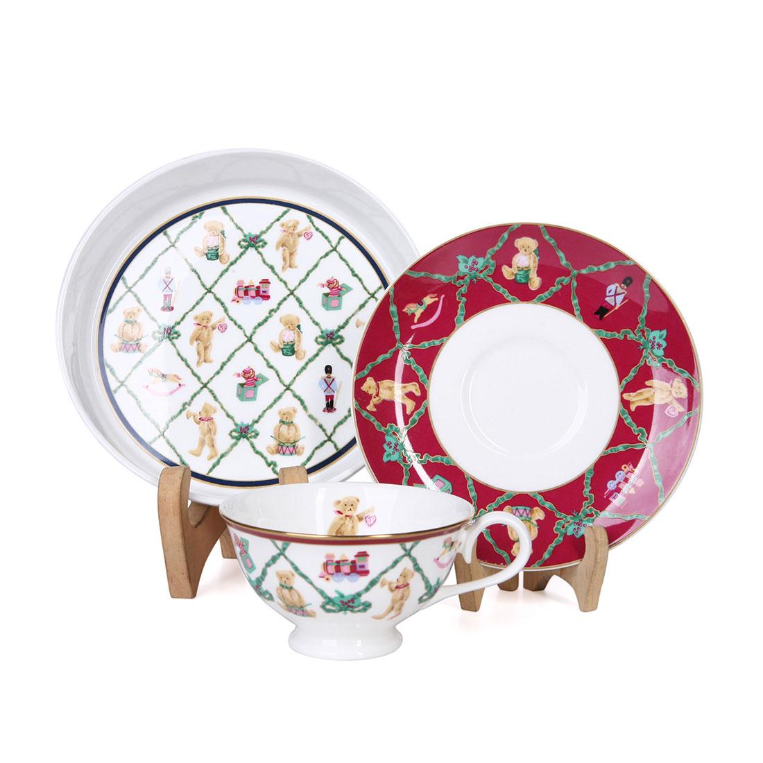 Bộ Set Trà + Dĩa Bánh Hall Mark Narumi - Nhật - 313501