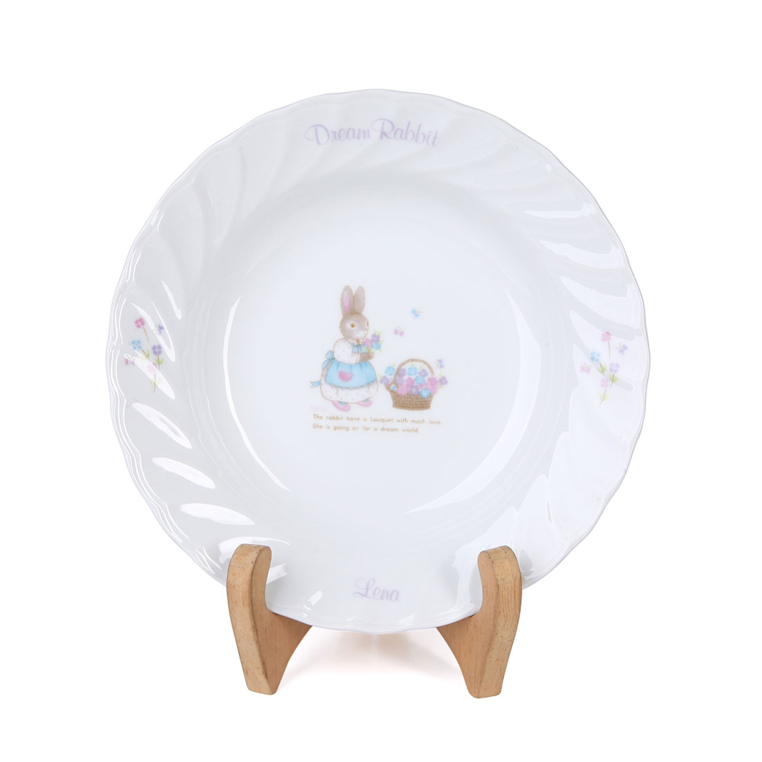 Dĩa Sứ Dream Rabbit Koria - Nhật - 21 x 2 cm - 414153